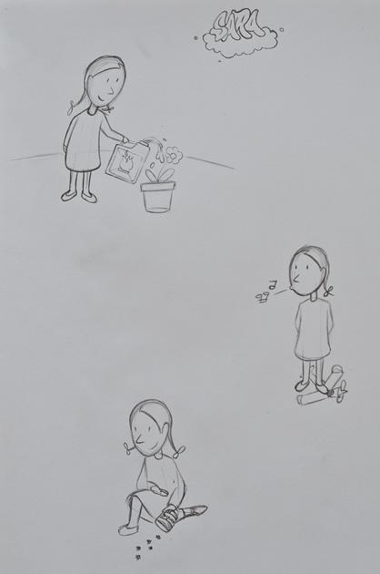 Charakterstudien zu Sara