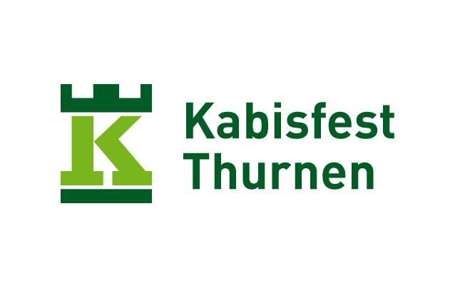 Logo-Design Kabisfest Thurnen, Vorschlag 1 mit der Burg und einem K wie Kabis