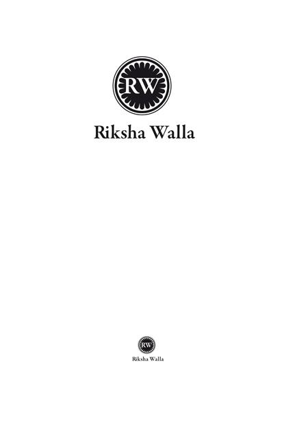 Corporate-Design Rikscha Walla; Entwurf basierend auf der Flagge von Indien