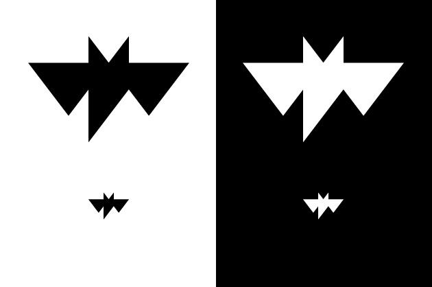 Logo Ratpenat – in positiver und negativer Anwendung