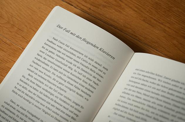 Buchgestaltung – Lavinia Morgan – Kapitelanfang