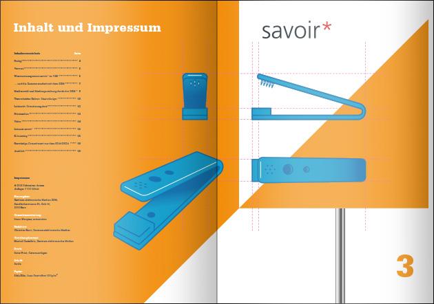 Layout Broschüre – Seiten 2–3