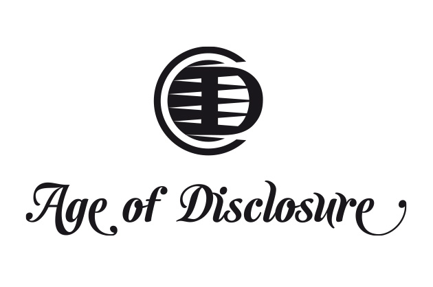 Finales Logo Age of Disclosure in positiver Anwendung