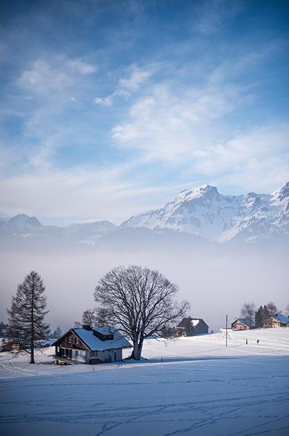Wildhaus SG im Winter