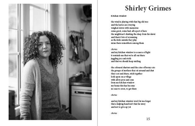 Doppelseite aus dem Murifeldbuch mit dem Beitrag von Shirley
