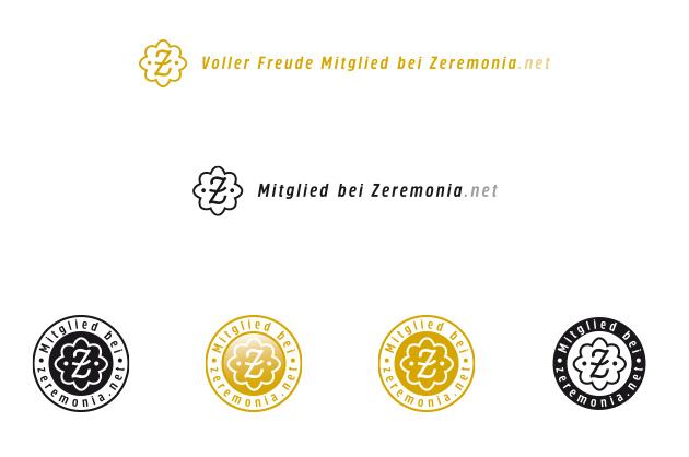 Logo Zeremonia, Anwendungsvarianten mit verschiedenen Umsetzungen