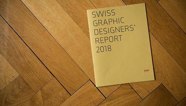 Murifeldbuch – Swiss Graphic Designers' Report, Beitragsbild mit dem Cover des Jahresberichtes