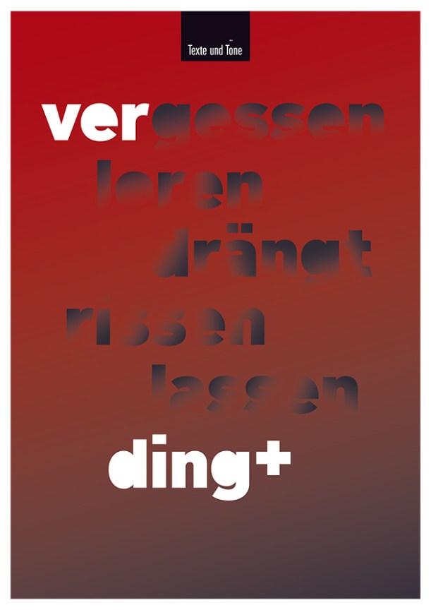 Theater Ver-Ding, nicht weiter verfolgter Plakatentwurf