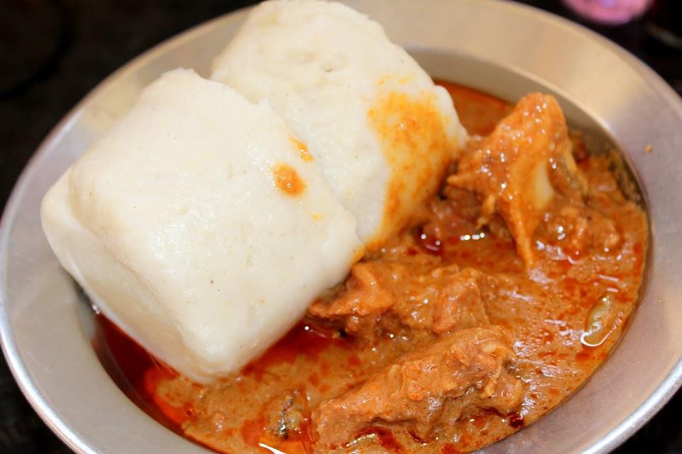 La sauce arachide et pate de mais fermenté Blog Cuisine Togo