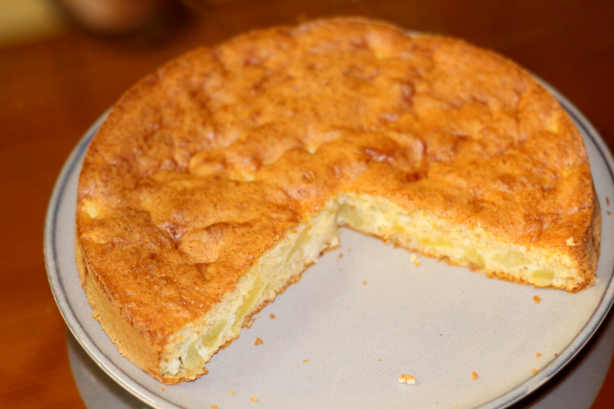 Cake aux pommes Recette super facile Manuella Cuisine Blog Cuisine Togo Niger