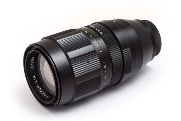 Jupiter-21M 200mm f/4 - Manuell fokus