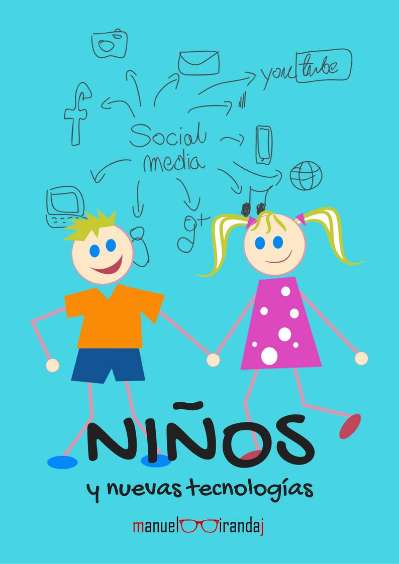 hacer portada ebook con canva - niños y nuevas tecnologías