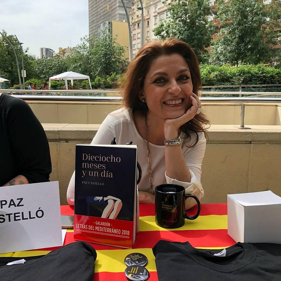 entrevista a paz castello autora de dieciocho meses y undia