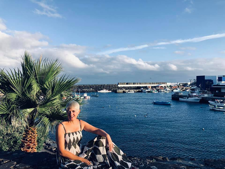 Maria D Laso Flores en las Azores