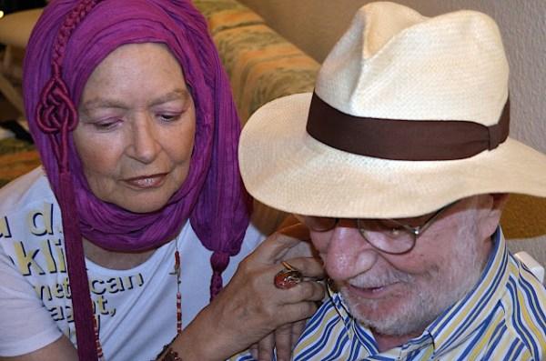 Pilar Rey y Antonio Abdo.
