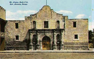 Fuerte de El Álamo, en San Antonio.