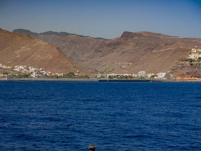 Bahía de San Sebastián de La Gomera, en la actualidad.