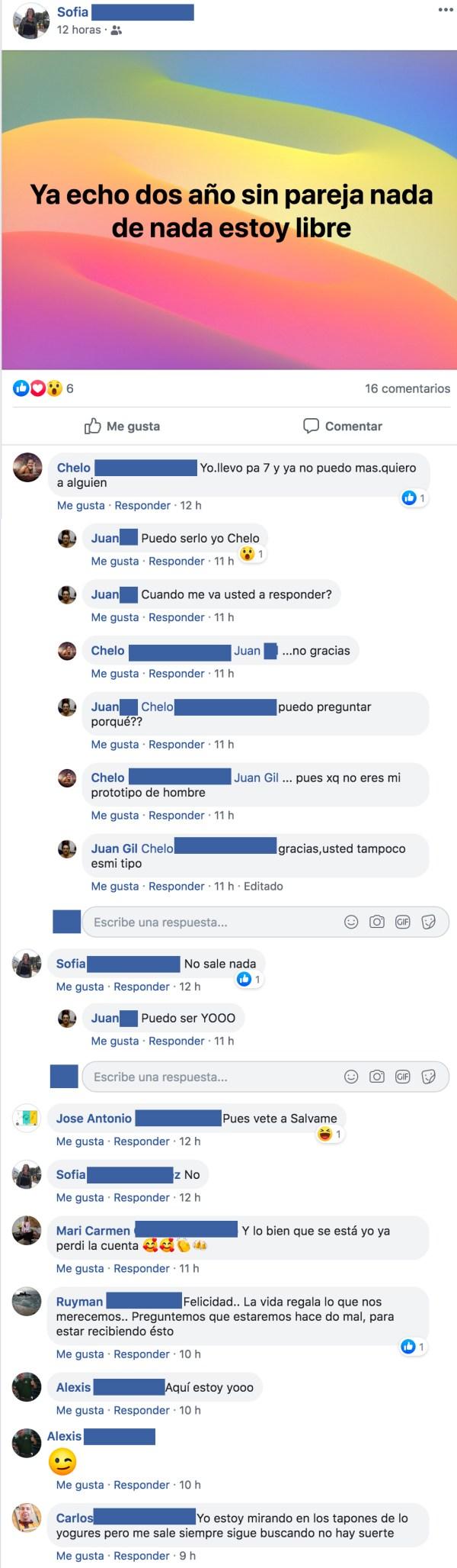 Cómo ligar en Facebook...