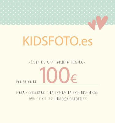 Tarjeta regalo valor 100€