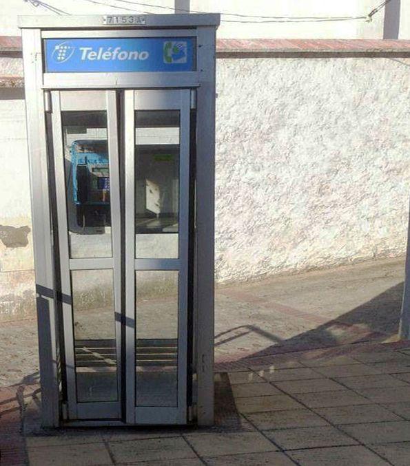 cabina telefono