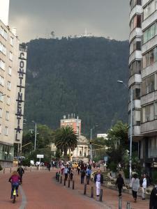 Monserrate desde Bogotá