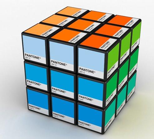 Cubo de Rubik de Pantone