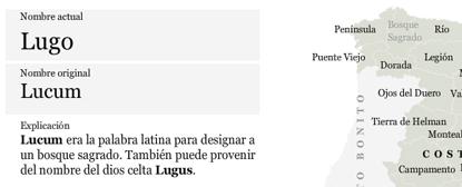 Los verdaderos nombres de España: Lugo