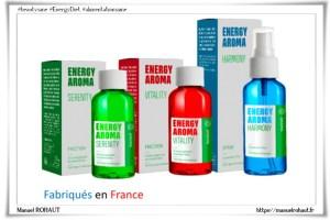 Aromachologie : Gamme Energy aroma par Beautysane