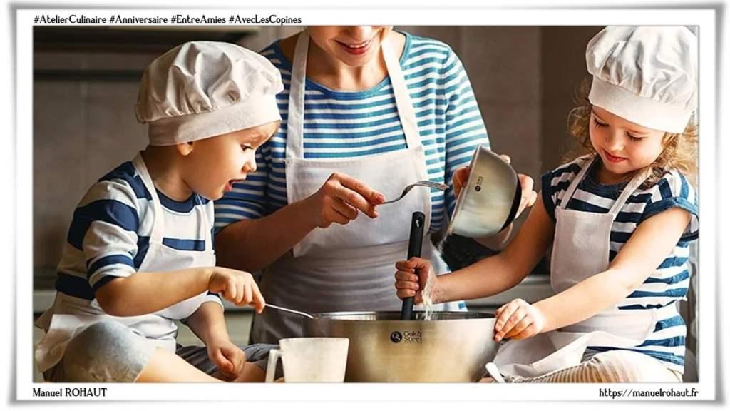 Comment organiser des ateliers cuisines, entre amies, avec les copines ou des ateliers culinaires pour l'anniversaire des enfants - Corrèze - Dordogne - Haute-Vienne - Lot & Garonne - Votre conseiller Beautysané se tient à votre disposition