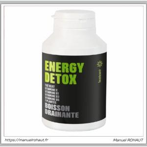 Beautysane energy detox - boisson drainante fabriquée en France par Beautysané - saveur citron
