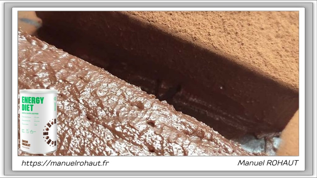 Recette healthy, saine, rapide et gourmande Beautysané© : crémeux extra-chocolat