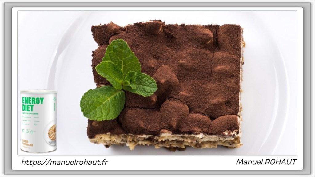 Recette healthy, saine, rapide et gourmande Beautysané© : dessert au café, le tiramisu