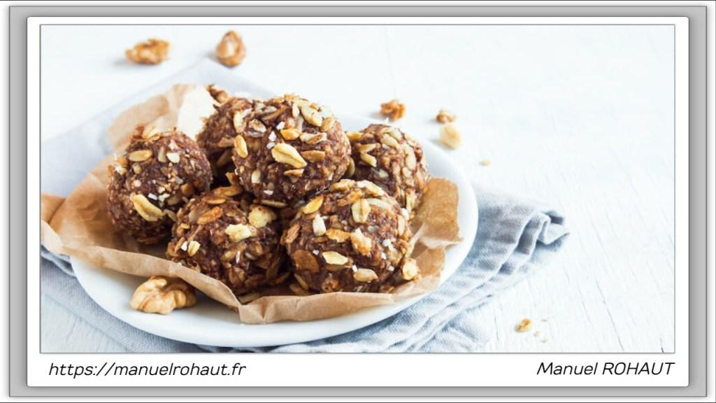 Recette healthy, saine, rapide et gourmande Beautysané© : surprenantes energy balls cacahuète