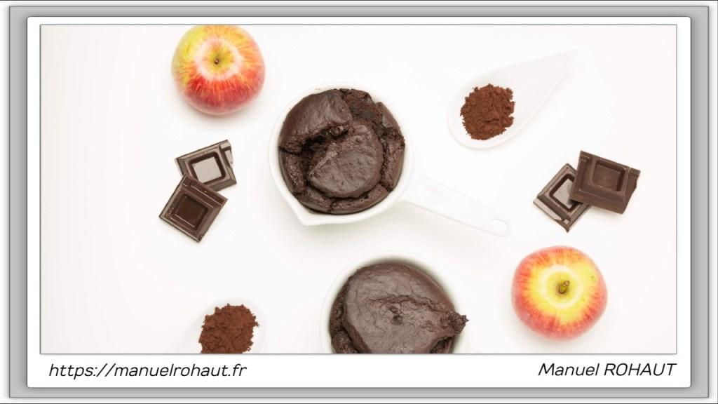 Recette healthy, saine, rapide et gourmande Beautysané© : délicieux fondant au chocolat