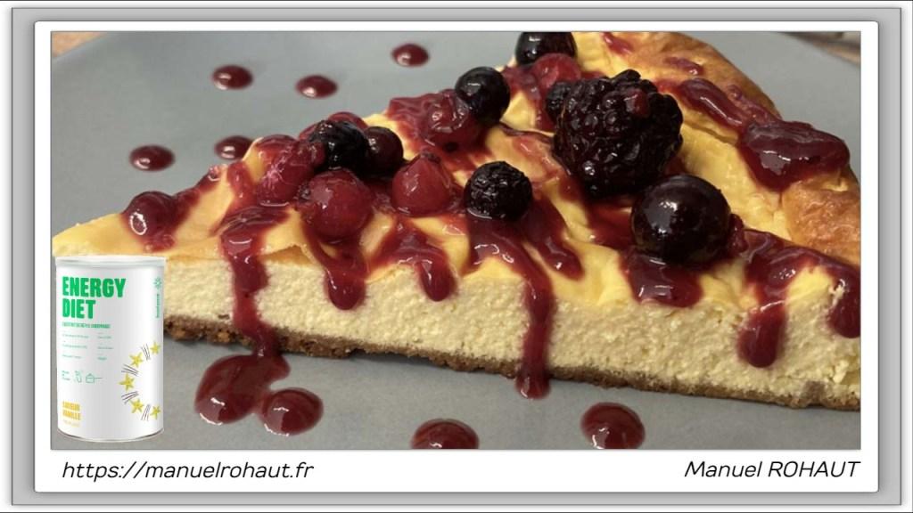 Recette healthy, saine, rapide et gourmande Beautysané© : cheesecake vanille spéculoos