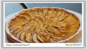 Recette Beautysane© délicieuse tarte aux pommes healthy - Energy Diet Crème Brûlée et Energy Diet Pain