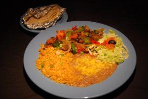 Carne Picado Dinner