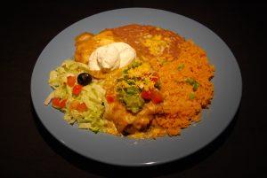 Chimichanga Dinner