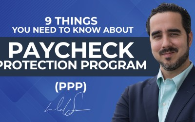 9 Things You Need to Know About Paycheck Protection Program (PPP).