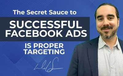 The Secret Sauce to Successful Facebook Ads is Proper Targeting.