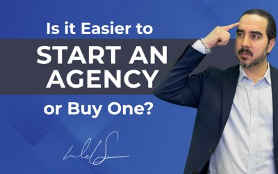 Is it Easier to Start an Agency or Buy One?