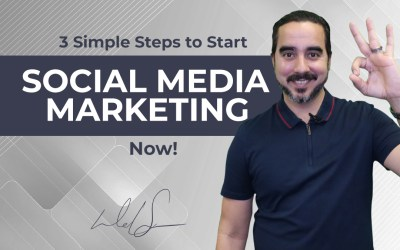 3 Simple Steps to Start Social Media Marketing Now!