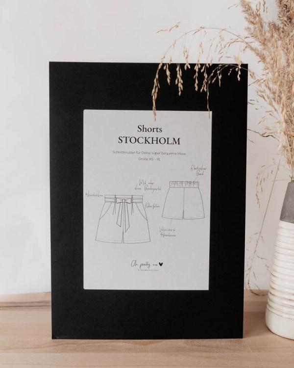 NAchhaltige Mode selber nähen, Schnittmuster und E-Book für kurze Hose, Shorts