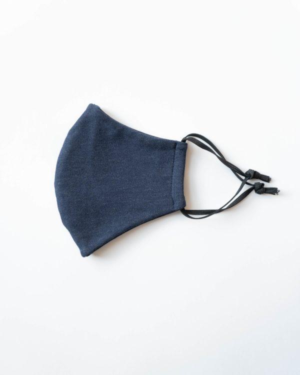 weiche Maske aus Baumwolle Bio in blau für Damen Frauen