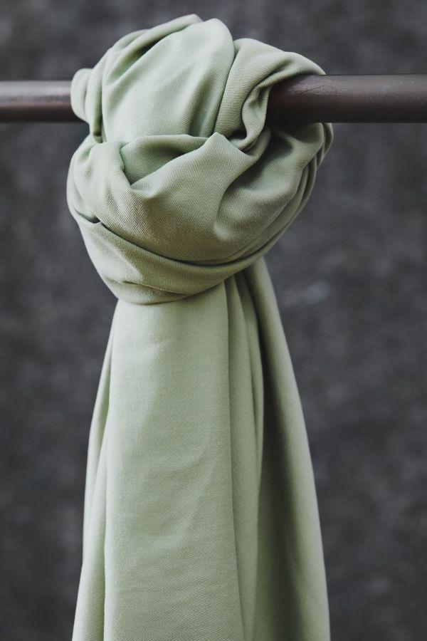 Meet Milk Tencel Smooth drape Twill 5126 Soft Mint