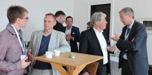 Manufakturen-Blog: Mittagspause während des 7. Zukunftsforums Deutsche Manufakturen in Berlin (Foto: Deutsche Manufakturen e. V. / Massimo Rodari)