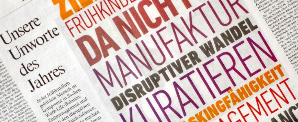 Manufakturen-Blog: FAZ erklärt Manufaktur zu einem der Unworte des Jahres 2016 (Foto: Wigmar Bressel)