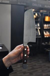 Manufakturen-Blog: Güdes neues Damaststahl-Messer mit 300 Lagen (Foto: Wigmar Bressel)