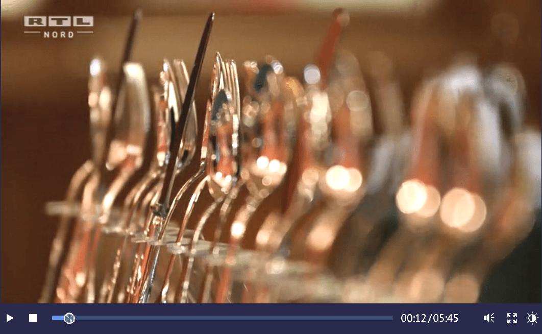 Manufakturen-Blog: RTL Nord berichtet über die Besteckmanufaktur von Koch & Bergfeld