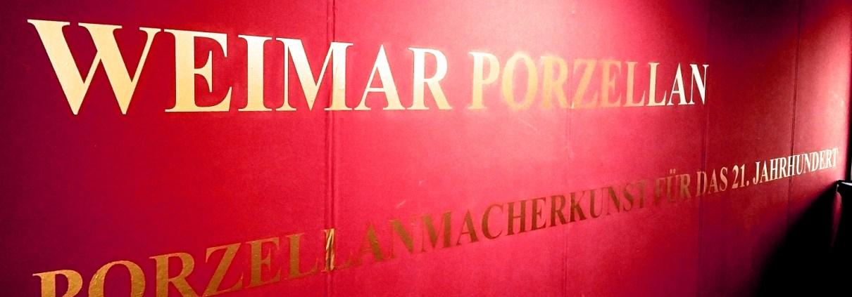 Manufakturen-Blog: Weimar Porzellan will eigentlich Porzellanmacherkunst für das 21. Jahrhundert bieten - rutschte jetzt allerdings in die Insolvenz (Foto: Wigmar Bressel)